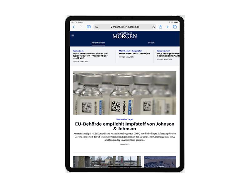 E-Paper-Abo Südhessen Morgen